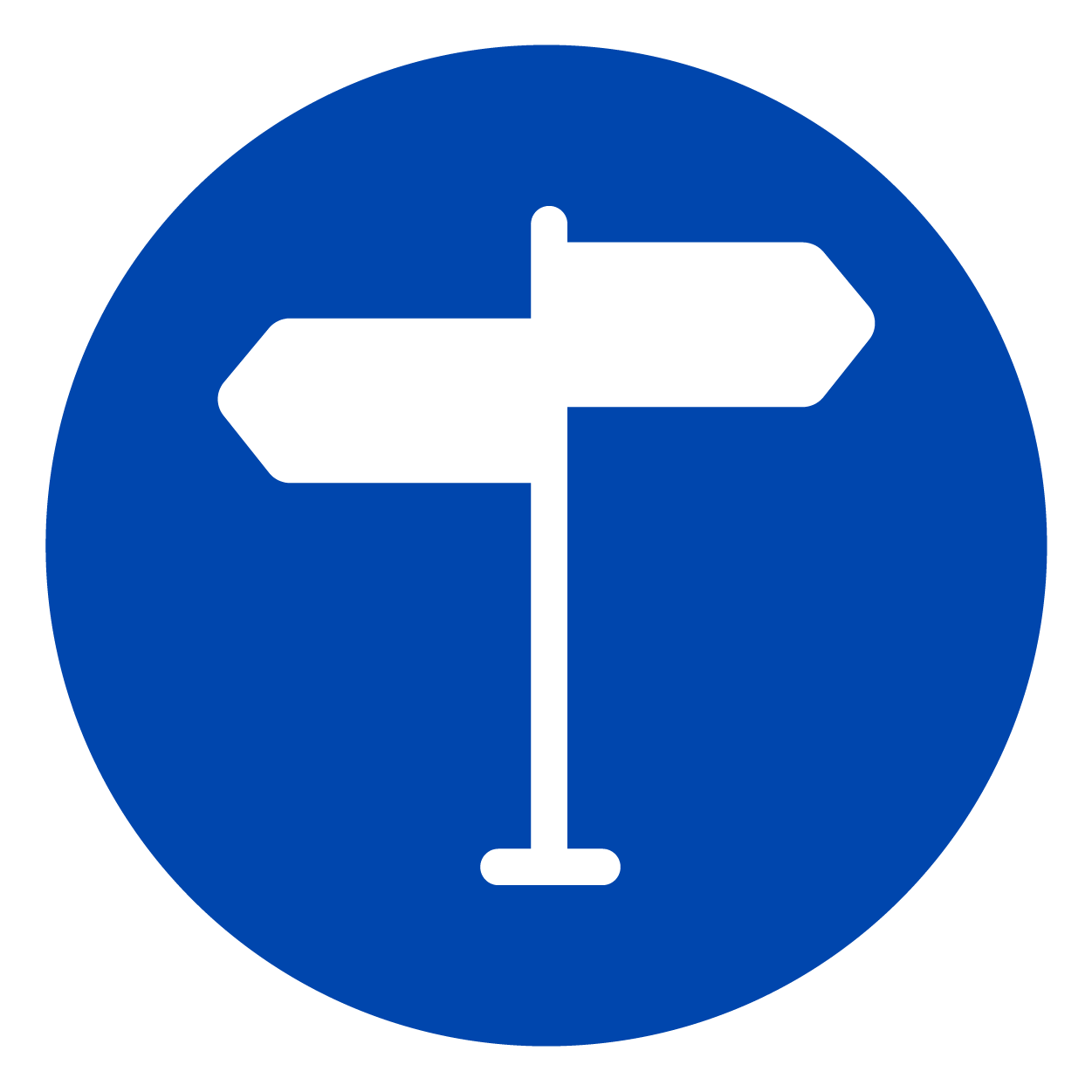Icon of Road Signs