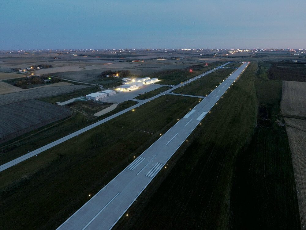 Voltmer's finished Airfield project